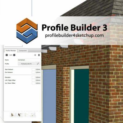 Profilebuilder voor SketchUp