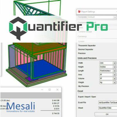 Quantifier pro voor SketchUp