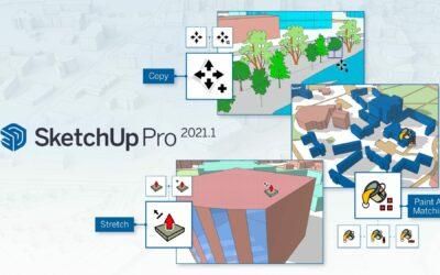 Nieuwe updates in SketchUp Pro 2021